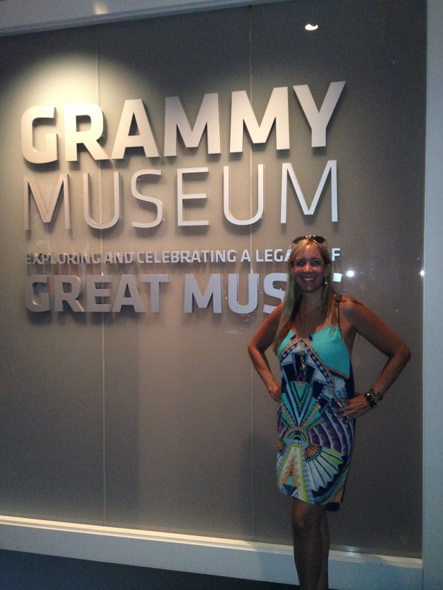 Grammy Museum was SUPER cool!!!  www.alexisvear.com